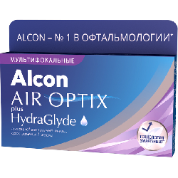 Alcon® AIR OPTIX® plus HydraGlyde Multifocal 3 линзы